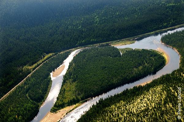 Coeur de la rivière Moisie (QC)