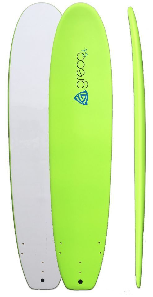 "Green 8'8"" The Eden Foam Performance Surfboard Beginner Surfboard | eBay"