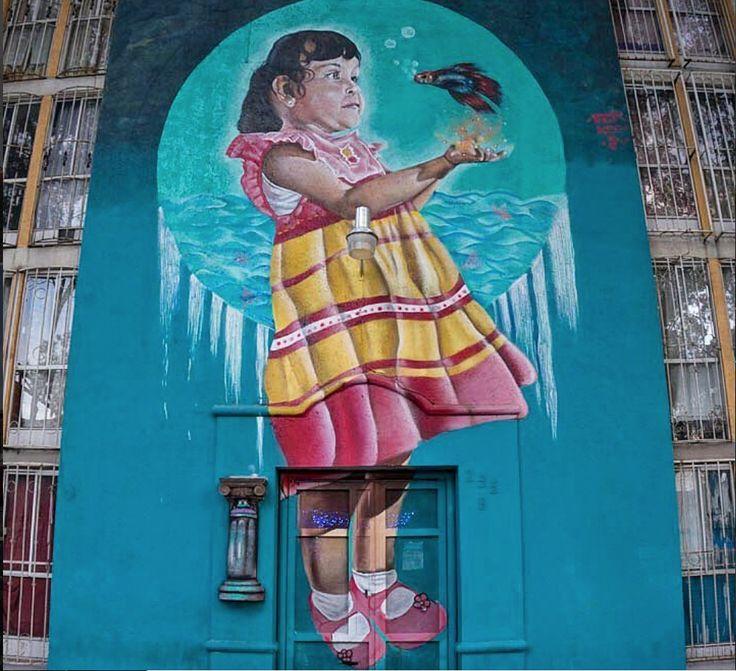 Their Munguia & Roso Sk for Delcuauhtemoc/ Liberaliacolectivo in Buena Vista Art Corridor near El Chopo, Mexico, 2017