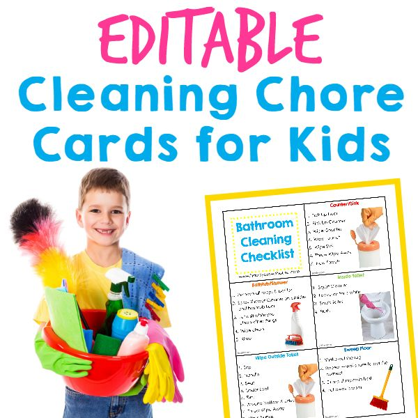 15 Best School Chore Chart Clipart Images On Pinterest Cleaning Households And Child Discipline