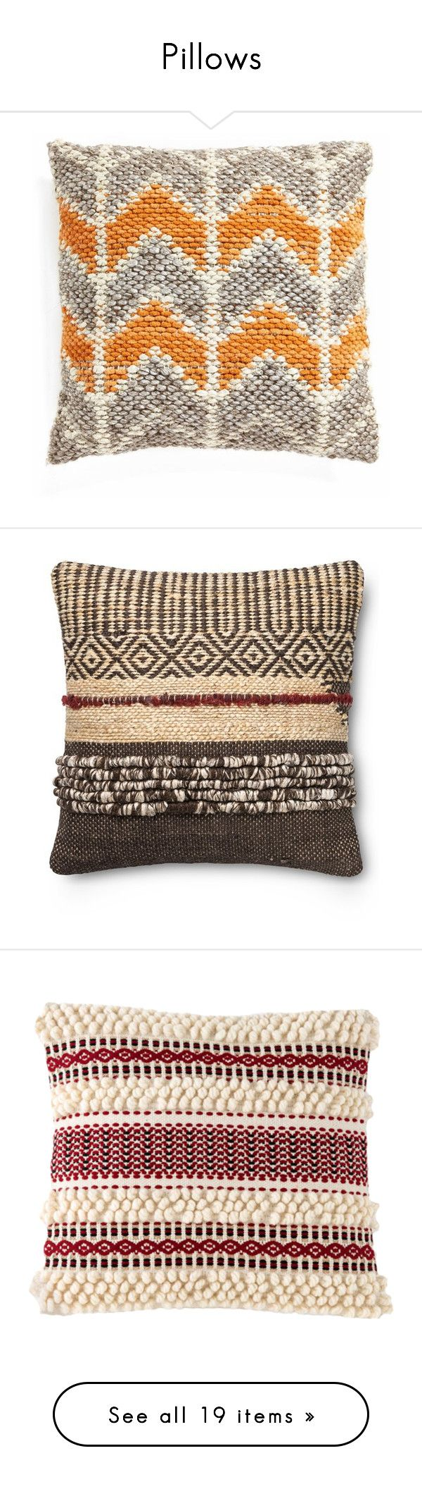 Shop home decor chevron stripes pillow from shop home decor -  Pillows By Camilika Liked On Polyvore Featuring Pillows Home Home Decor