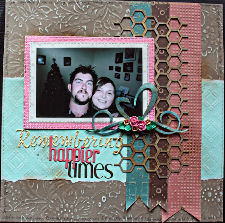 Remembering Happier Times by Amy Prior using Core'dinations cardstock, A2Z Scraplets Chipboard, Handmade Halo Resin & WOW Embossing Powders. www.a2zscraplets.blogspot.com.au, www.wowembossingpowders.blogspot.com, www.handmadehalo.com.au