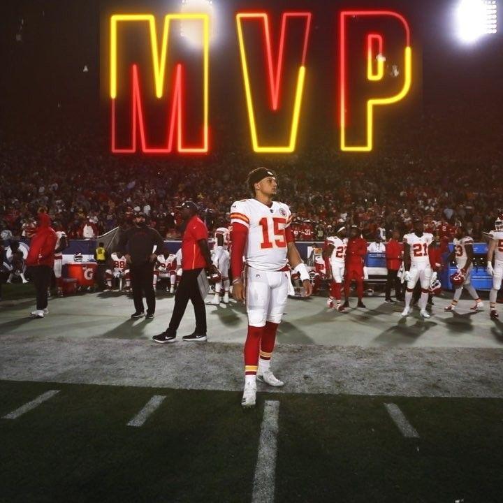 "eea725da Kansas City Chiefs on Instagram: ""Patrick. Mahomes. MVP. #MVPat ..."