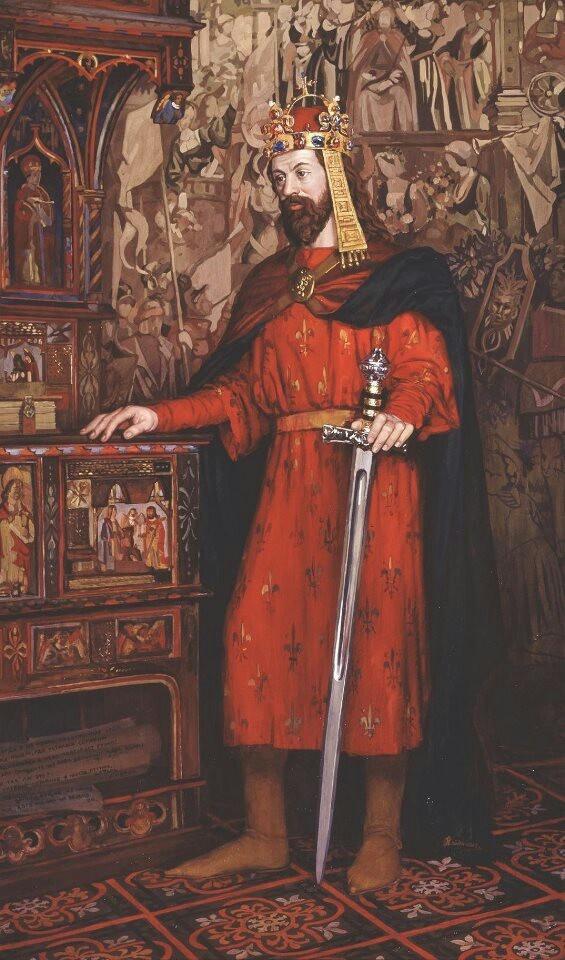 Karl IV King of Bohemia & Holy Roman Emperor