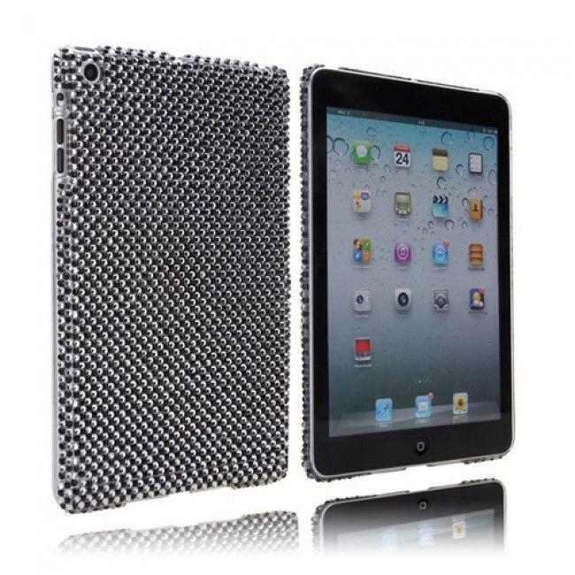 Diamond Drops (Hopea / Musta) iPad Mini Kotelo - Ilmainen Toimitus! - http://lux-case.fi/diamond-drops-hopea-musta-ipad-mini-kotelo.html