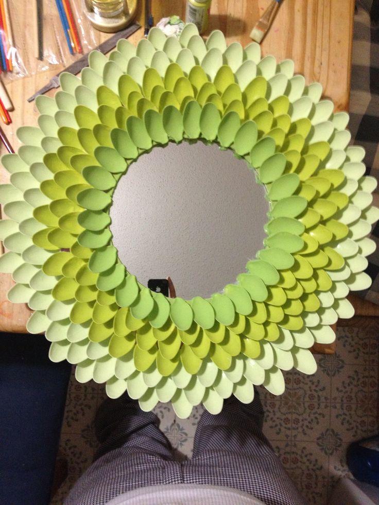 Spoon mirror DIY and crafts