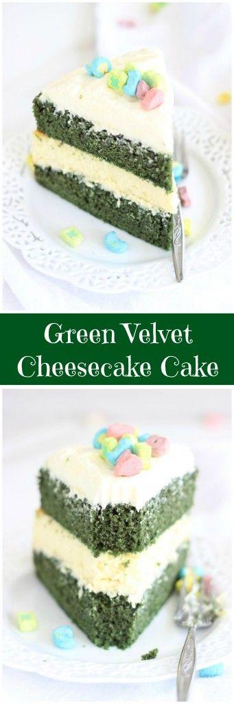 17 Best ideas about Green Velvet Cake on Pinterest | St ...