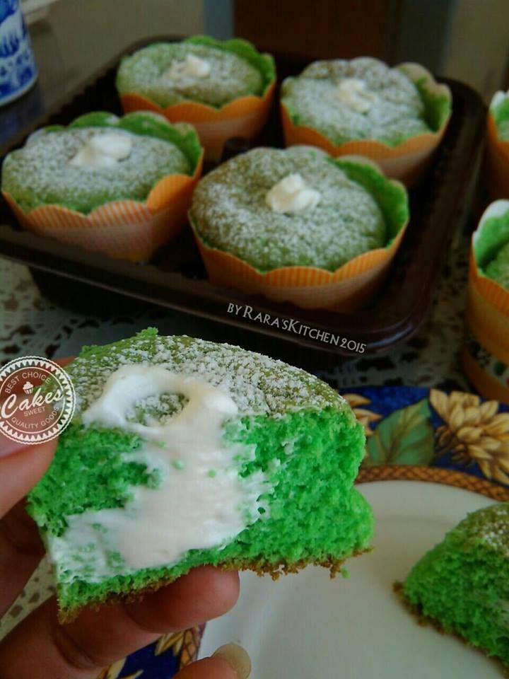 Pandan Hokkaido Chiffon Cupcake By Eirlynd Chararaya Resep Resep Makanan Dan Minuman Makanan