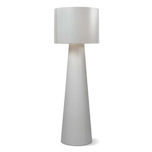 "INDA Concrete Cordless Outdoor LED Floor Lamp 55"" ht, $867"