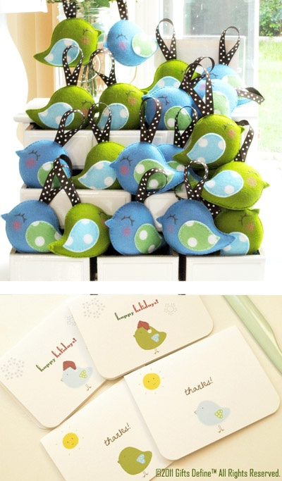 Bird Parade Favors