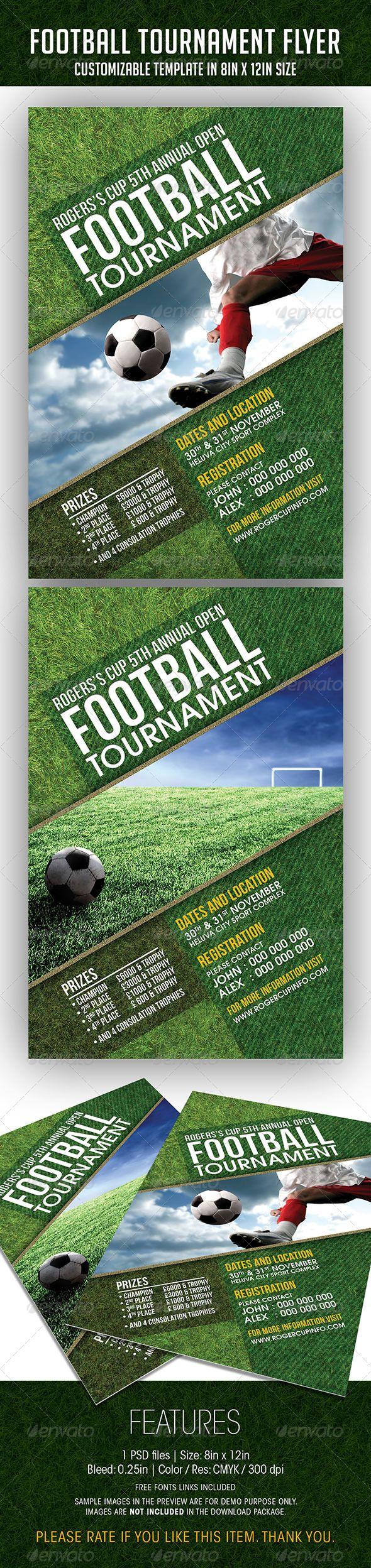 Football Tournament Event Flyer 9 best World