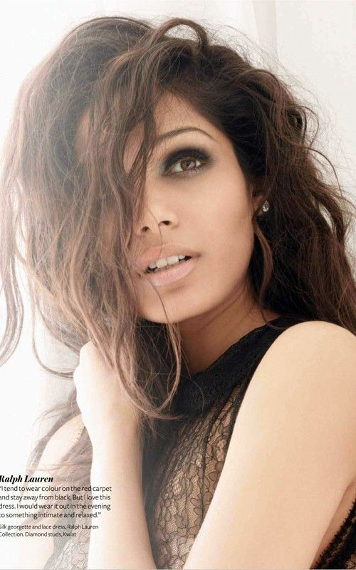 Freida Pinto... I never forgot her since I saw Immortals. Thought she was Crazy Beautiful!