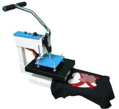 maquina de estampar e bordar camisetas