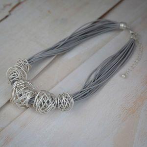 Bali Metal Ball Necklace