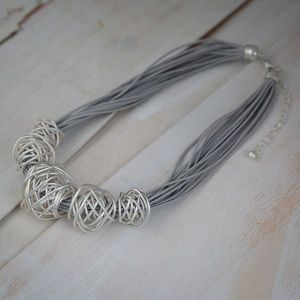 Bali Metal Ball Necklace
