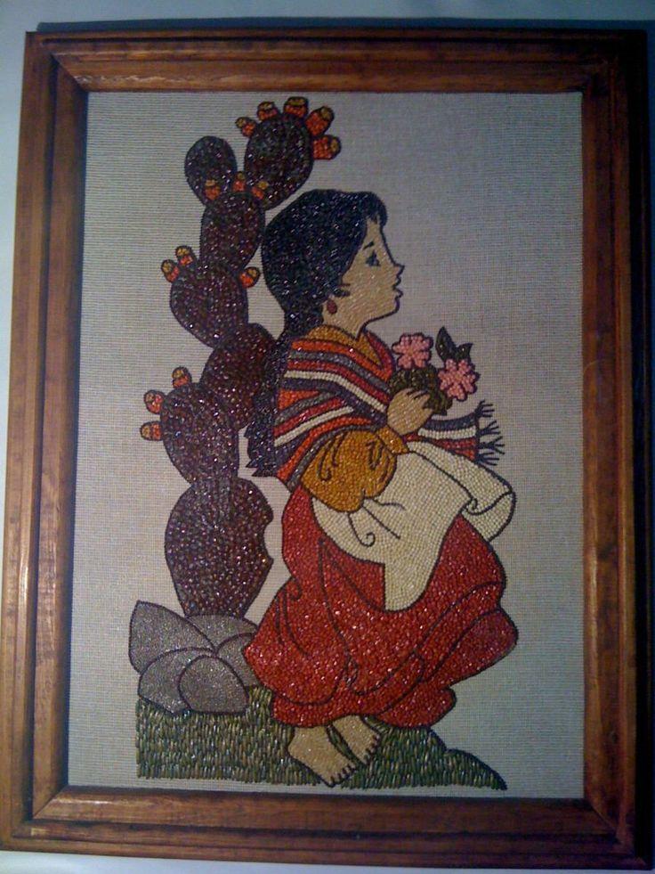 1000 images about cuadros con semillas on pinterest - Cuadros con fotos ...