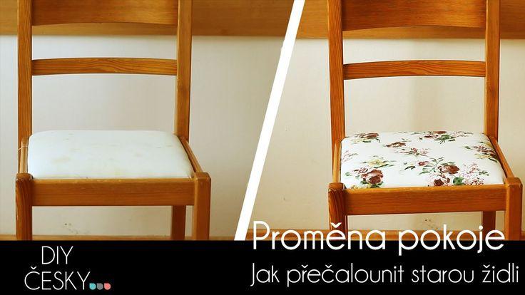 Přečalounění židle.  #chair #makeover