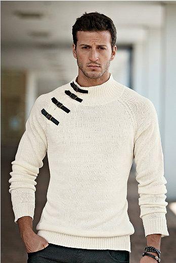 Very simple. Sweater.