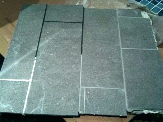 Light Grey Tile With Dark Grout Light Tiles Dark Grout Light Tile