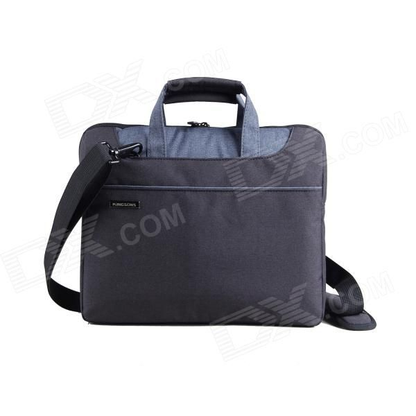 "KINGSONS KS3093W Universal Ultra Thin PVC Tote / Shoulder Bag for 11.6"" Laptops - Black Price: $25.53"