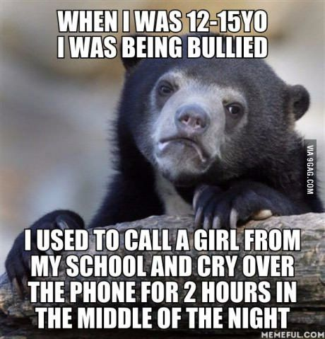 Now I am really ashamed I did that to a complete stranger.