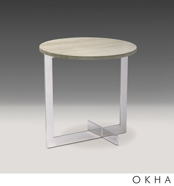 Fine Line Side Table Round