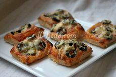Рецепт быстрой мини-пиццы - Новый год 2016, новогодние рецепты от 1001 ЕДА