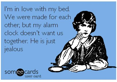 My #bed and I are made for each other!