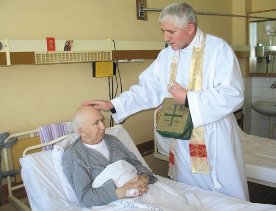 anointing of the sick The sacrament of the anointing of the sick is the church's sacrament for those who are sick and aging, and is a sacred moment when we pray for god's grace to strengthen someone who is suffering from any form of illness.
