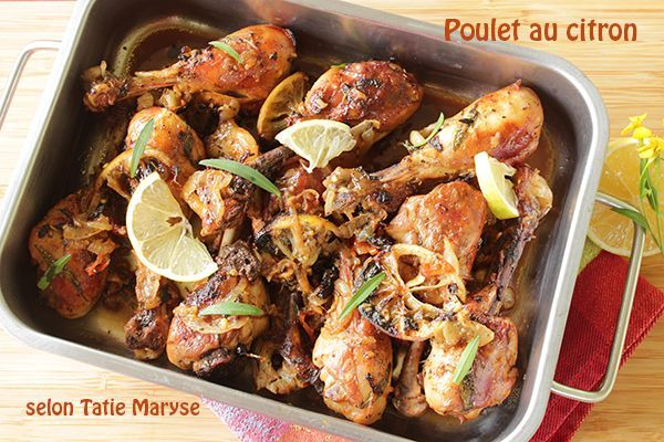 """Cette recette de poulet au citron est une alternative aux préparations """"classiques"""" du poulet"""