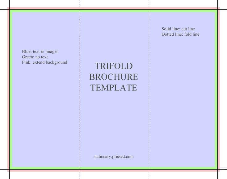 brochure templates free | ... Brochure Template (flyer, handout, 3 fold, download, print, free