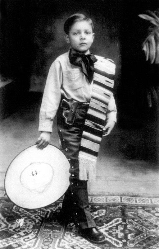 José Alfredo Jiménez niño