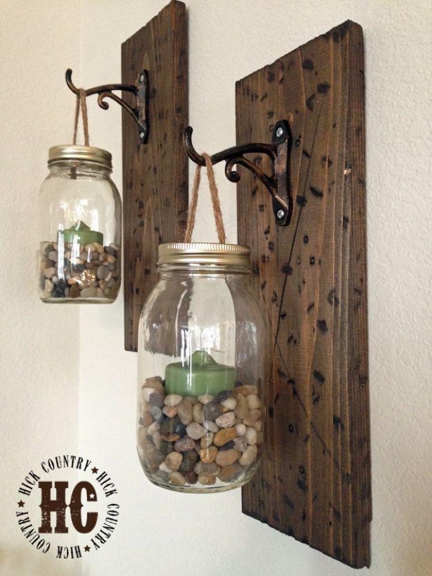22. DIY Glass Jars