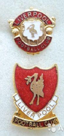 Значки футбол старая Англия фк Ливерпуль