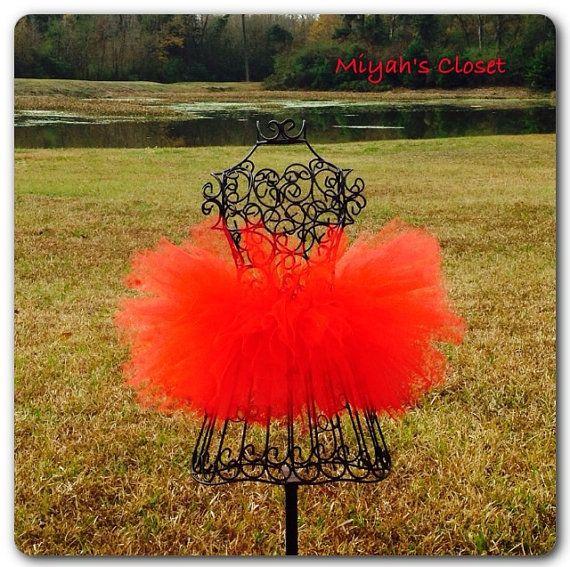 Red Tutu Skirt Big Red Tutu Skirt Holiday Tutu by MiyahsCloset