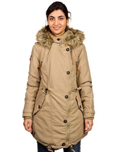Naketano Sissimuschi II Jacket Womens Jacke Winterjacke Girls Damen(Sand,L)