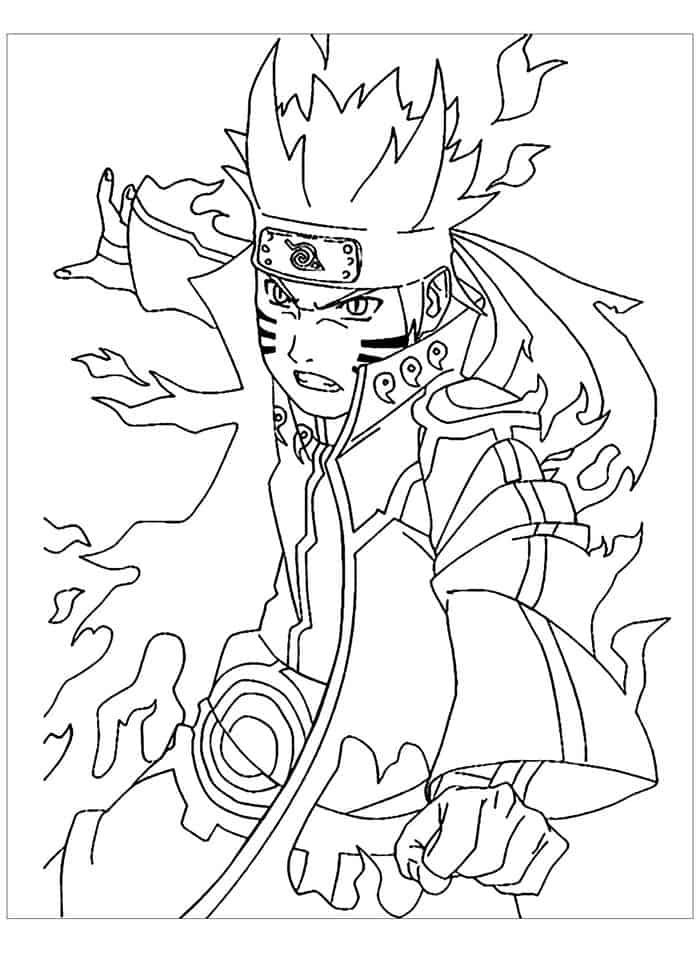 Coloring Pages For Adults Naruto Cartoon Coloring Pages Chibi Coloring Pages Coloring Pages