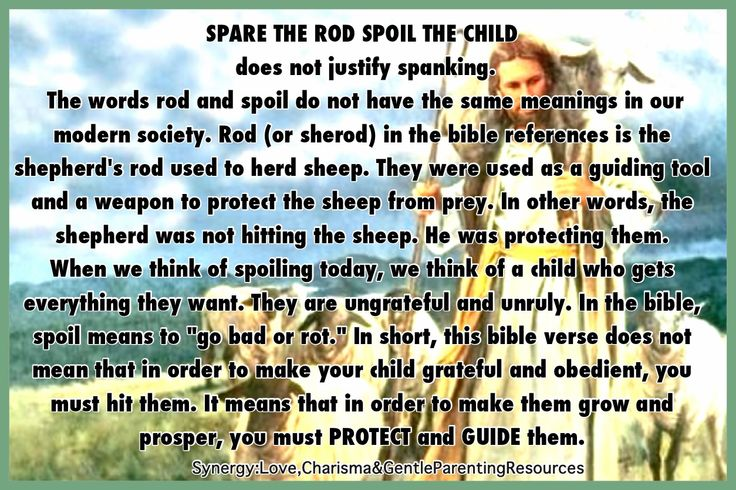 "spare the rod spoil the child essay ""spare the rod spoil the child"" corporal punishment shapes character many people might say getting chastised never hurt anyone however, some others might."