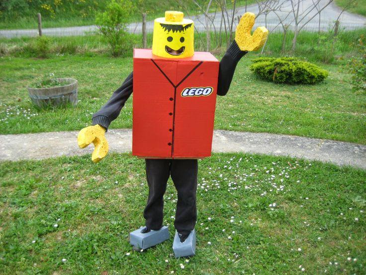 15 pingles costume de lego incontournables anniversaire th me lego d corations de f te de - Deguisement tete de lego ...