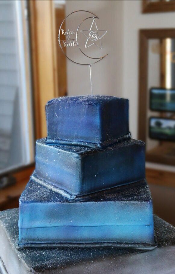 Moonlight Sonata Personalized Wedding Cake Topper Photo Submitted By Client Please Comment If You