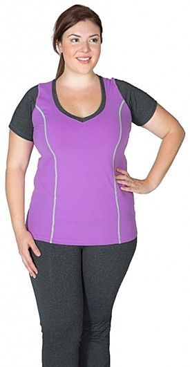 Gorgeous www.delightfullyc...  Ladies's plus measurement exercise clothes....