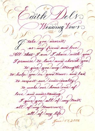25 best wedding vows images on pinterest wedding vows wedding vow samples junglespirit Gallery