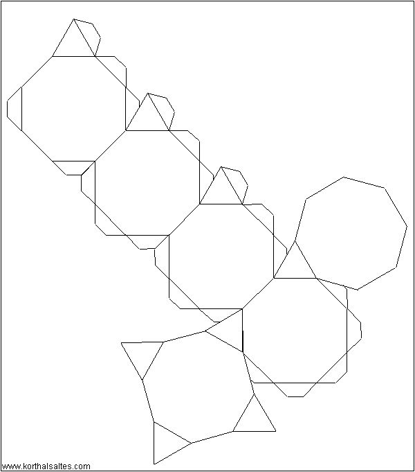 net truncated cube