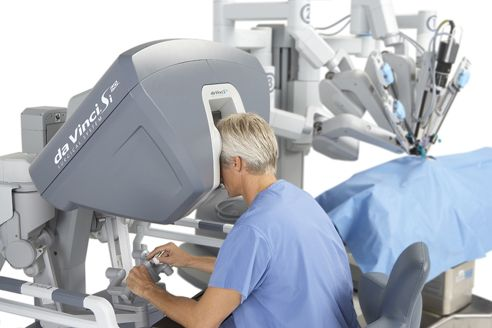 Intuitive Surgical's DaVinci robot, makes complex and difficult procedures minimally invasive.