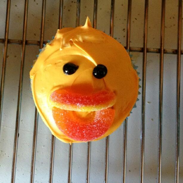 Alina's duck cupcakes
