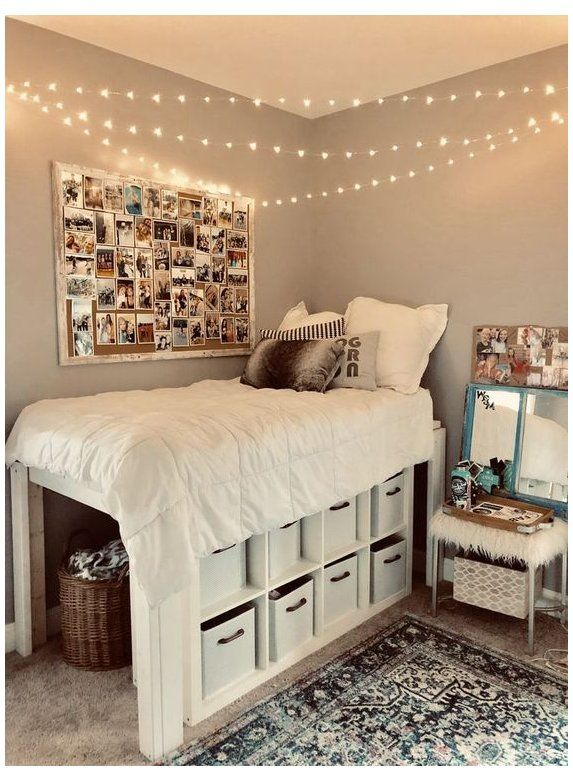 How To Decorate Your Room To Make Everyone Jealous Decorating Your Room Is Not Only The Most Fun Thin In 2020 Cool Dorm Rooms College Dorm Room Decor Dorm Room Designs
