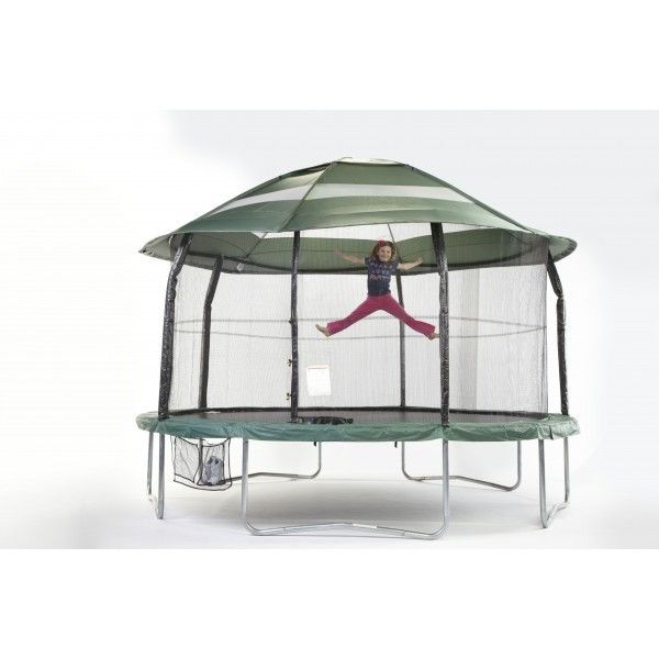 #Canopy #Jumpking #Green #Garden #Trampoline #Shade
