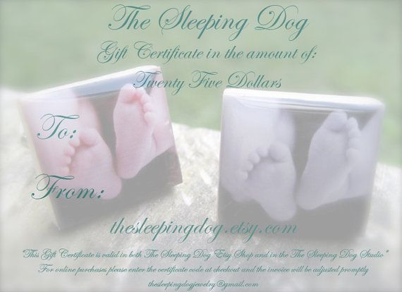 Gift Certificate for The Sleeping Dog Custom by thesleepingdog, $25.00