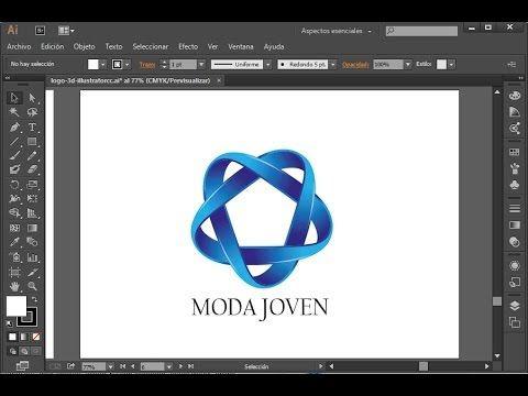 Curso de Illustrator CC - Diseñar un logo 3D (1/3) - YouTube