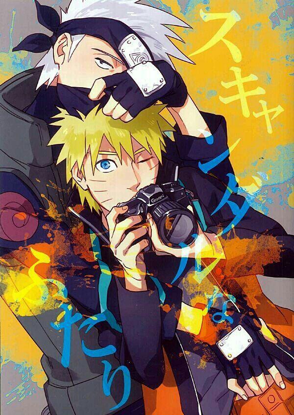 yaoi photobook | Kakashi X Nuruto | Naruto kakashi, Naruto